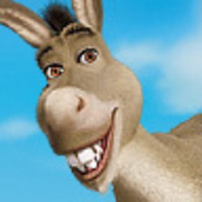 Donkey friend of Shrek