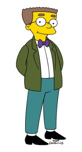 Smithers from The Simpsons TV Show
